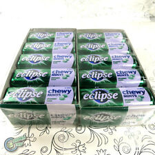 20x 27pcs Eclipse Chewy Mint Spearmint Green Metal Tin Box Wrigley's Wrigley