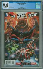 Justice League #50 CGC 9.8 1st App Jessica Cruz As Green Lantern DC Comics 2015