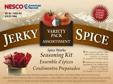 Jerky Spice Works Variety Pack 3 pk 1 ea. Original/Hot & Spicy/Teriyaki By Nesco
