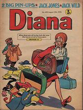 Diana Magazine No. 495 12 August 1972   Jack Jones   Jack Wild   Paul Simon