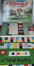 Totopoly board game larger double board 1949 copyright John Waddington Complete.