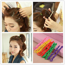 Hair Accessories Styling Tool High Elastic and Durable Donut Hair Ring Headwear