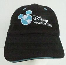 00a46565c959f WALT DISNEY WORLD VACATION CLUB MICKEY MOUSE EMBROIDERY BLACK HAT ADULT  ADJUSTS