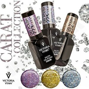 Victoria Vynn Gel Polish CARAT Collection Rose Gold Silver Emerald Opal Coral