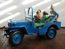 tintin destination moon 1/18 jeep hapax rare