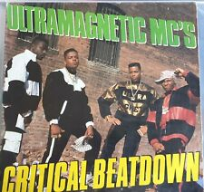 ULTRAMAGNETIC MC'S - CRITICAL BEATDOWN 1988 LP VINYL Original NEXT PLATEAU