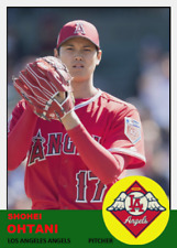 SHOHEI OHTANI 63 PITCHING ACEO ART CARD ## buy 5 get 1 free # or 30% OFF 12