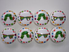 Hungry Caterpillar Dresser Drawer Knobs--Set of 8