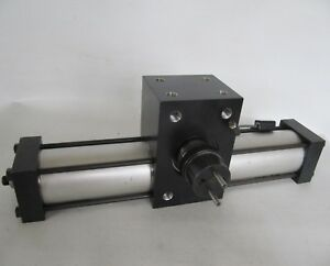 Parker Pneumatic Rotary Actuator w/ Sensor PTR251-120F-AA21M-C