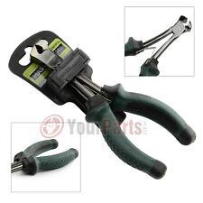 """Masterhand 5 1/2"""" End Cutting Nipper Pliers Cutters Non-Slip Cushion Grips"""