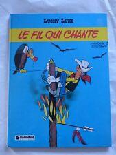 LUCKY LUKE  LE FIL QUI CHANTE  E.O 1977   TBE++