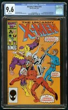 X-MEN #215 (1987) CGC 9.6 1st APPEARANCE 1st PRINT WHITE PAGES