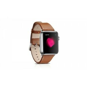 Iwatch Bracelet Leather Real Luxury Brown