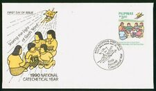 MayfairStamps Philippines 1990 National Catechetical Year First Day Cover wwr599
