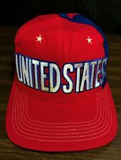 Adidas United States World Cup Team Snapback Hat Cap US Soccer Red White Blue