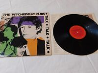 The Psychedelic Furs Talk Talk Talk Record 1981 CBS Records Stereo LP Vinyl