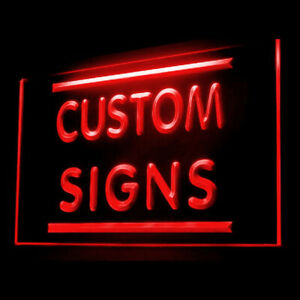 Your Text Personalized Custom Made Customize Display LED Light Neon Sign