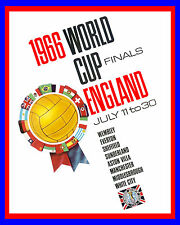 "1966 England World Cup Poster - 8""x10"" Color Photo"