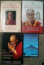 Dalai Lama: Art of Happiness + at Work,  Ancient Wisdom, Spiritual Autobiography