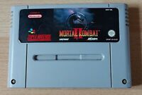 Super Nintendo SNES PAL Game Mortal Kombat II (2) Cartridge