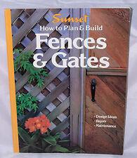 Vintage Sunset How To Plan & Build Fences & Gates Paperback