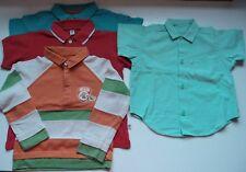 Lote niño: camisa y polos. Talla 2 años. Mayoral, Prenatal, Rebel