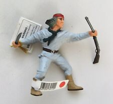 PAPO COWBOYS & INDIANS (RETIRED) NATIVE AMERICAN BRAVE WITH RIFLE -NEW WITH TAGS