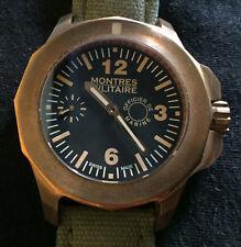 Montres Militaire Officier De Marine MIL No. 7103 Bronze Limited Rare LNIB PAM