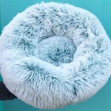 XS-XXL Pet Dog Cat Calming Bed Comfy Fluffy Warm Bed Nest Mattress Donut Pad