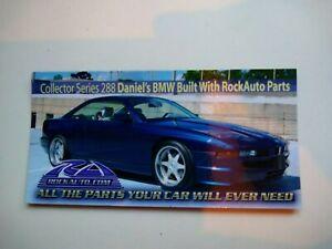 ROCKAUTO ROCK AUTO Collector Series 288 Car Magnet BMW E31 8 Series