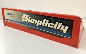 Top Auger Housing Cover Shroud Simplicity Sno-Away 7 55cm 7hp Snow Blower