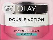 Olay Double Action Day & Night Moisturiser Cream Sensitive Hydrating Care 50ml