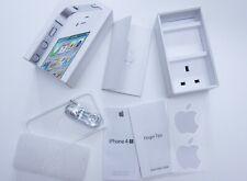Apple iPhone 4s Blanco 32GB A1387 Caja Vacía BN Auriculares Pegatinas MD245B/A 4