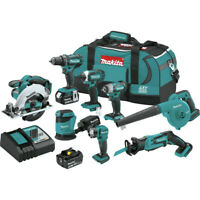 Makita XT801X1 18V LXT Li-Ion 8-Pc. Combo Kit (3 Ah) New