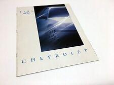 1993 Chevrolet Lumina Corsica Cavalier Camaro Corvette Caprice Beretta Brochure