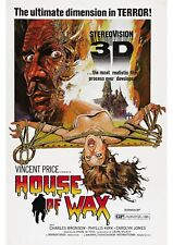 House of Wax - A4 Laminated Mini Movie Poster - Vincent Price
