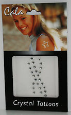 CRYSTAL BODY JEWEL TATTOO ART SPARKLE AND GLIMMER