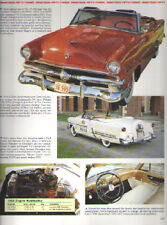 1953 Ford Crestline Sunliner Convertible + F100 Pickup Truck Article - Must See!