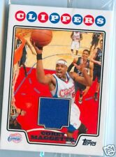 Corey Maggette Topps Basketball Game Used Jersey Card