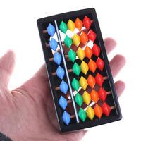 Mini Plastic Abacus Arithmetic 7 Digits Kids Maths Abacus educational Toys JCAU