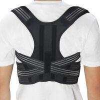 New Posture Corrector for Kids Adjustable Back Brace Back Straightener