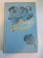 Pansies for Thought, inspirational poems. Burton T. Doyle.  1st Limited Signed