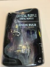 Crystal Purple Xenon Bulb H3 55 watts