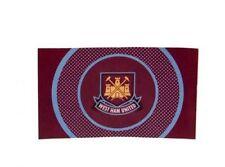 West Ham United Flag - Bullseye Large Football Crest Fan Gift Idea Official