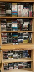 $1.22 & UP ROCK, HAIR METAL CASSETTE TAPES  BUILD YOUR LOT BEATLES, PINK FLOYD++