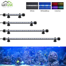 Aquarium Lights LED Lighting Bar Anti-explosion Fish Tank Lamp Blue White RGB