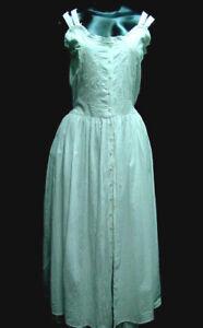 Chemise  Vintage Victorian Style Boho Dress Sundress All Cotton Small - XLarge
