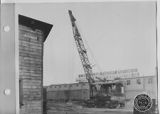 1920's-30's American Locomotive Crane Rock Island Freight station St. Paul