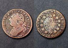 12 Deniers 1792 (Pau) Constitution. Cuivre. Cote B: 25€/ TB: 70€