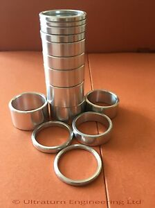 1 INCH  ALLOY HEADSET SPACER STACKER BMX 2mm 3mm 4mm 5mm 10mm 15mm 20mm sizes